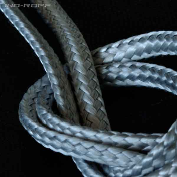 Une photo Dyneema simple tresse serré de la marque Lancelin