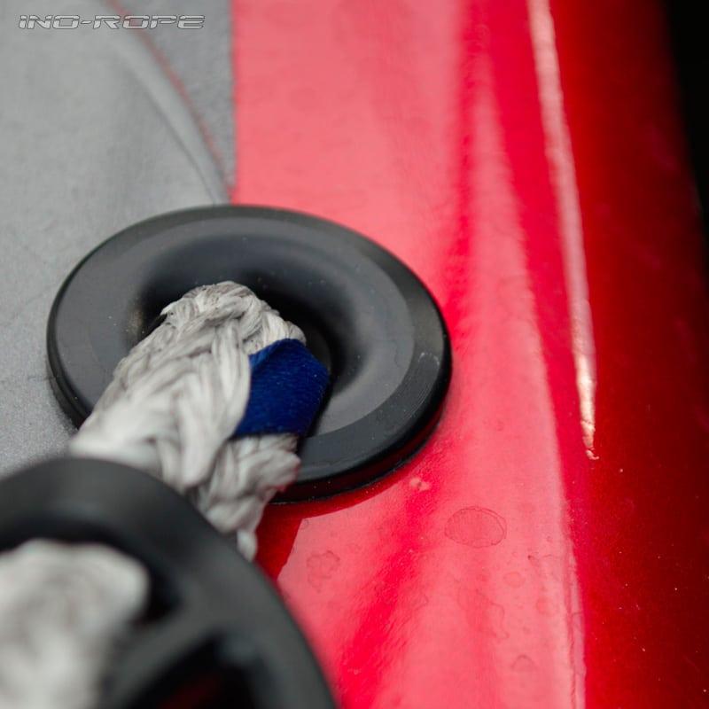 Photo d'accastillage d'un anneau à vissé vmg