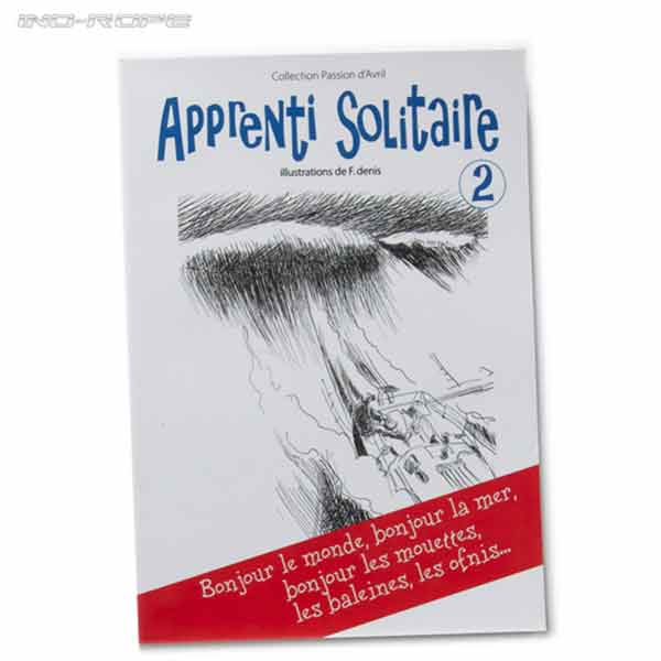 "Photo du livre le ""L'apprenti solitaire"""""