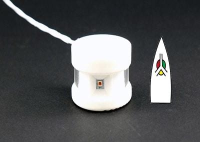 Feu à LED «TS Lite» : puissant et ultra-léger !