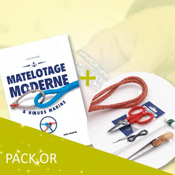pack lancement livre matelotage or Ino-Rope