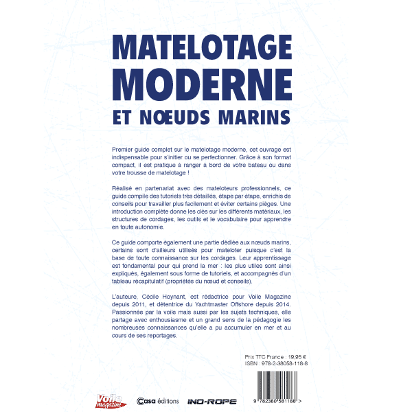 Livre tutoriel noeuds et matelotage moderne Ino Rope