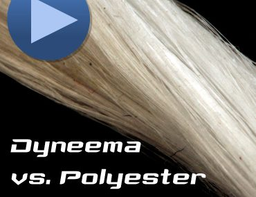 Comparison Polyester vs Dyneema® under load