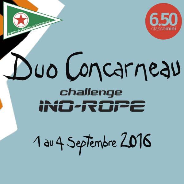 Ino-Rope sponsorise la Duo Concarneau 2016 !